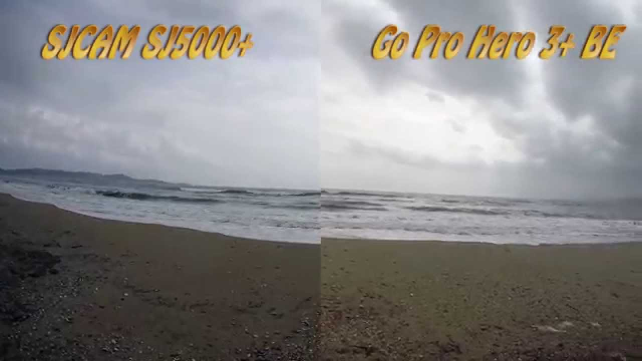 Xiaomi yi vs gopro hero action camera comparison cameralah com gopro - Sjcam Sj5000 Plus Vs Gopro Hero 3 Black Edition 60fps Side By Side