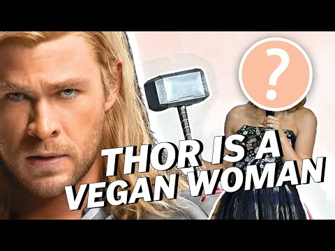 THOR IS A VEGAN WOMAN | Vegan News | LIVEKINDLY