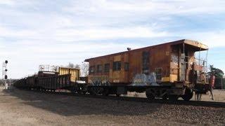 CSX MOW Rail Train
