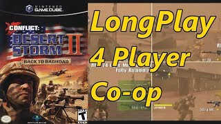 Conflict: Desert Storm II - Longplay Co-op 4 Players Full Game Walkthrough (No Commentary)