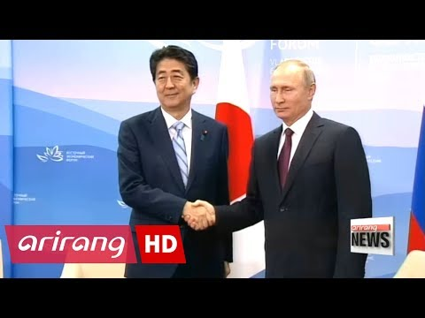 """Japanese PM """"determined"""" to sign peace treaty with Russia"""