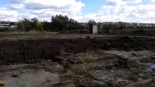 видео разработка грунта в отвал