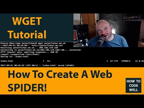 How To Crawl A Website Using WGET