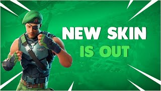 New Garrison Skin Gameplay! Fortnite Battle Royale