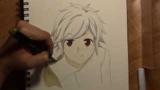 Drawing Bell from Danmachi (Is it wrong to pick up girls in a dungeon?)