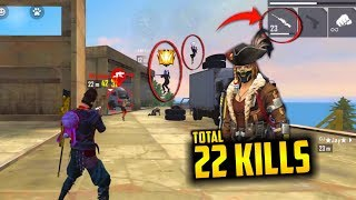 Total 22 Kills But Boring Game For You - Garena Free Fire- Total Gaming