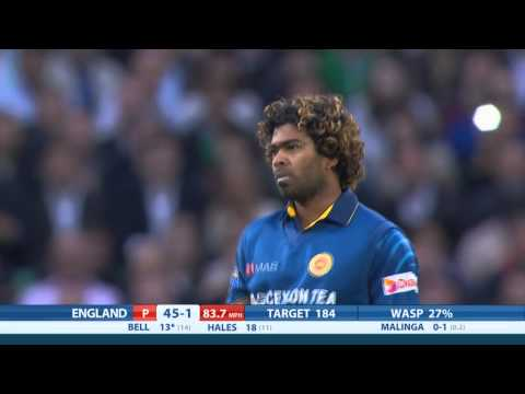 Highlights - England v Sri Lanka, NatWest T20, England innings