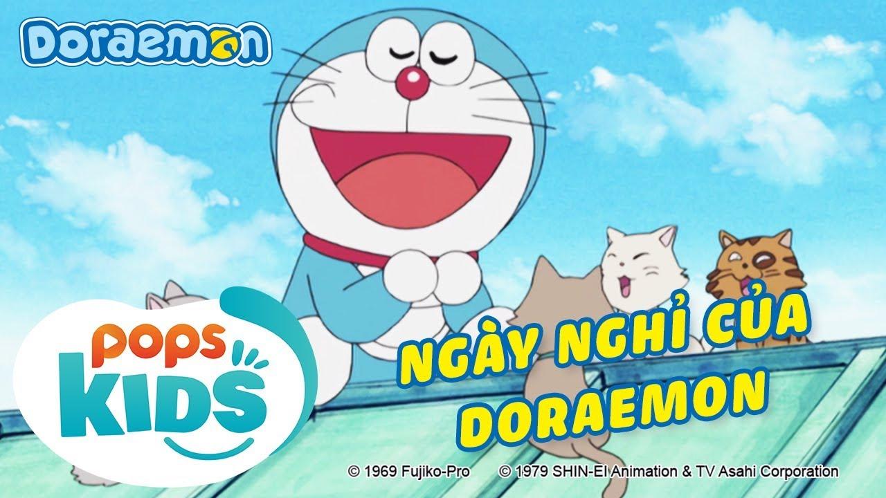 Doraemon Tập 302 - Cùng Vẽ Thế Giới Nào, Ngày Nghỉ Của Doraemon - Hoạt Hình Tiếng Việt