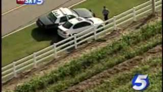 Live On-Air: Police Chase BMW Through OKC
