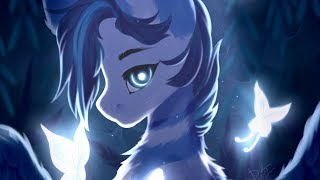 MLP Speedpaint - Blue Lights