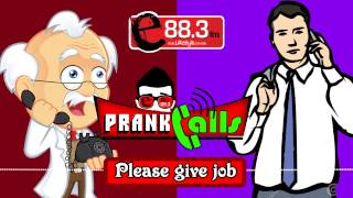 please give job e fm prank call