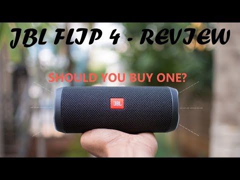 JBL Flip 4  Review | Should You Buy One?