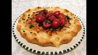 Очень удачный рецепт теста для пирога с сыром!