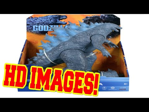 Godzilla vs Kong- Official Look At Playmates Godzilla and Kong Toys!