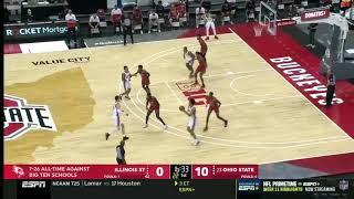 Illinois State at <b>Ohio State</b>   First Half Highlights   Big Ten <b>Basketball</b> ...