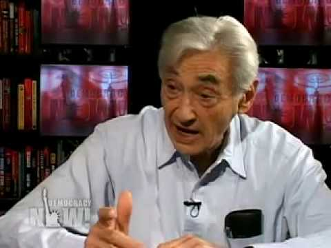 """Howard Zinn on Obama: """"If you want to end terrorism, you have to stop being terrorists"""""""