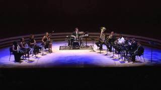 "IMANI WINDS & BOSTON BRASS play ""Here Comes de Honey Man"" - Gil Evans arr. Chris Castellanos"