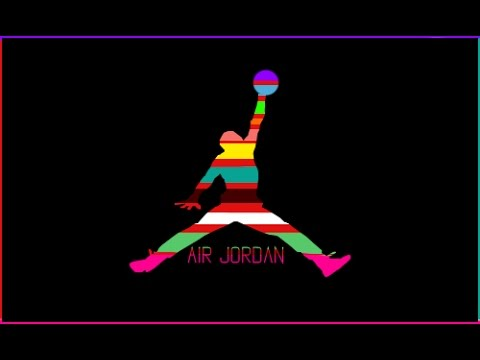 Speedart Air Jordan Logo Rainbow Thebonivideos Youtube