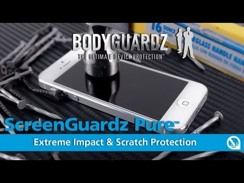 ScreenGuardz® Pure™ Premium Glass Screen Protector for iPhone 5 by BodyGuardz®
