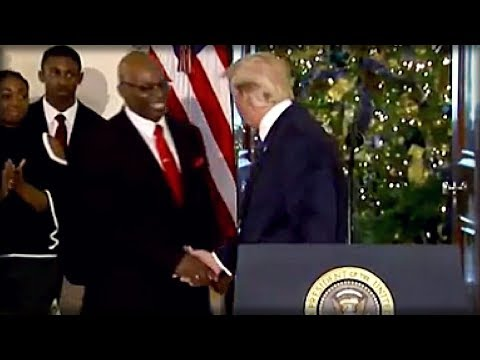 PASTOR'S FIRST WORDS COULDN'T BE MORE PERFECT AT WHITE HOUSE SPEECH