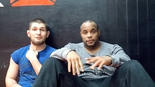 "Behind the walls of AKA - Daniel ""DC"" Cormier & Khabib"