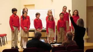 Cantori Scolari performing Galop