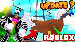*NEW* Insane AIRSHIPS Update UNLOCKED!! (CODES) | Roblox Ice Cream Simulator