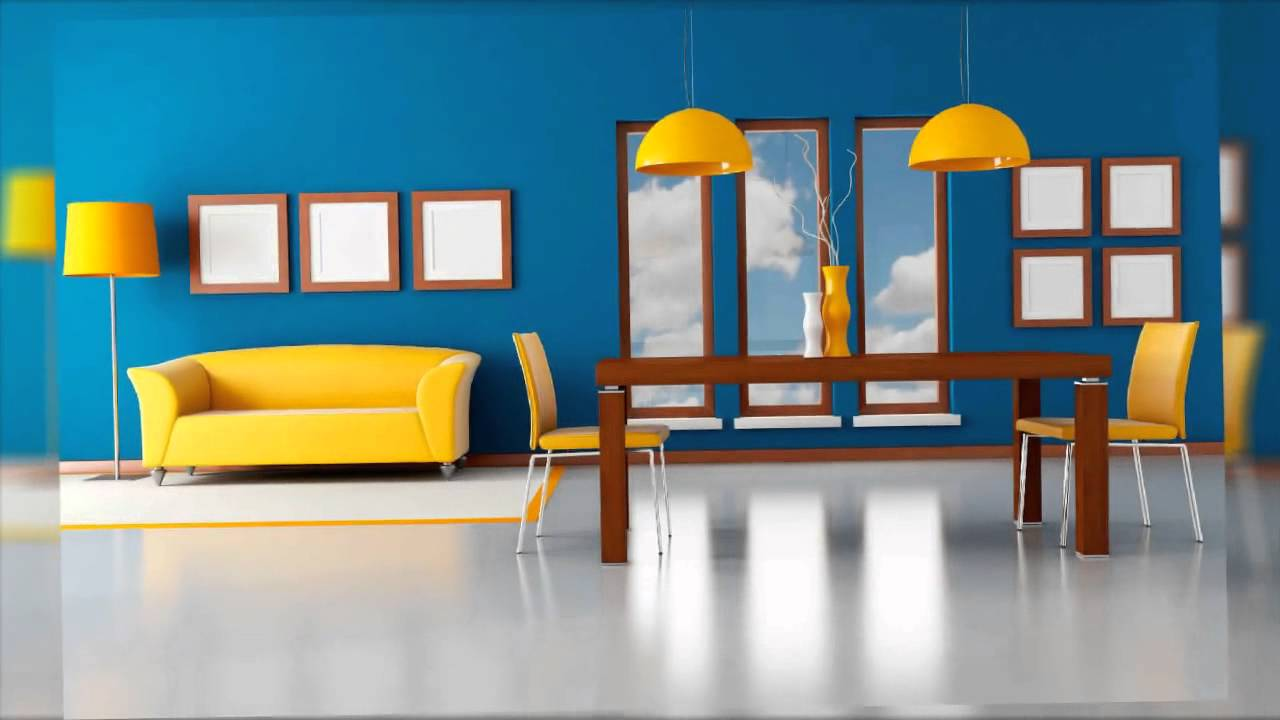 Dise o de interiores paredes y colores youtube - Diseno de paredes ...