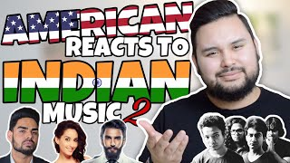 American REACTS // Indian Music 2 UPDATED