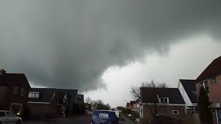 Onweersbui Heerenveen 4 april 2018