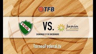 Cuyo: Ferro Carril Oeste de General Pico vs. Municipalidad de Junín   #TFB