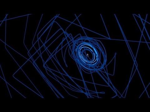 Rosetta's complete journey around the comet