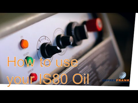 How to use your IS80 Oil -  FRANK® GmbH