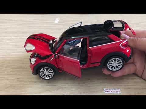 Xe ô tô đồ chơi Mini Cooper Countryman tỉ lệ 1:24 siêu to siêu đẹp (MX165)