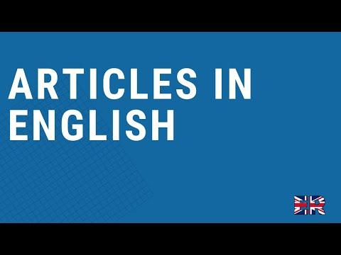 Articles - Essential English Grammar