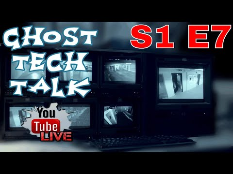 Ghost Tech Talk! Live 8pm EST with PSPR Paranormal Pursuit and PANICd Paranormal History!