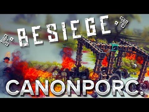 Besiege : Naissance du CANONPORC