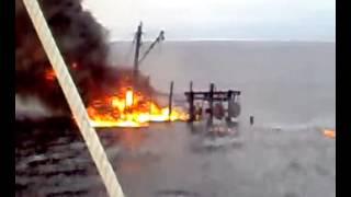 下霹雳半港渔船失火-3/hutan melintang