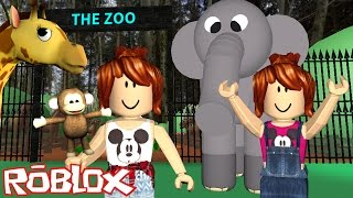 Roblox - ESCAPE DO ZOOLÓGICO (Escape The Zoo Obby)