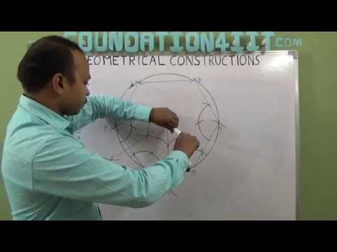How to Construct the Circumscribed Circle of a Regular Hexagon
