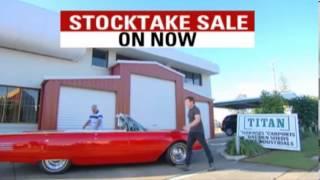 Titan Garages Sheds And Carports Stocktake Sale