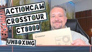 4K Actioncam Crosstour CT8000 | Unboxing &Video- + Ton-Qualität