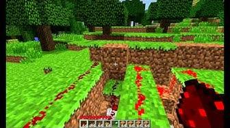 Minecraft tutorial FR - Ouverture de trappes avec un délai