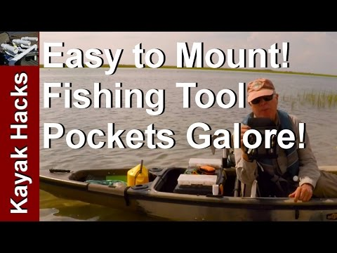 Create a Fishing Tackle Pouch on a Simple PVC Frame for Kayak Fishing