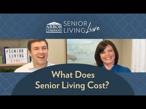 Senior Living LIVE - Episode 5 - What Does Senior Living Cost?