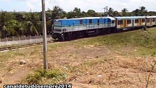 ᵀᴴᴱ ᴼᴿᴵᴳᴵᴻᴬᴸ® MGE Rail PR7B 1402 Trem de Natal RN Locomotiva  Extremoz