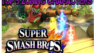 Zoning Characters - Top 5 Smash 4