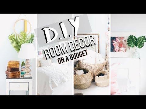 DIY Dorm Room Decor Summer 2018 | Decorating Ideas | Quick + Cheap!