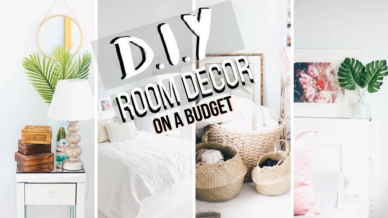 DIY Dorm Room Decor Summer 2018 | Decorating Ideas | Quick + Cheap ...