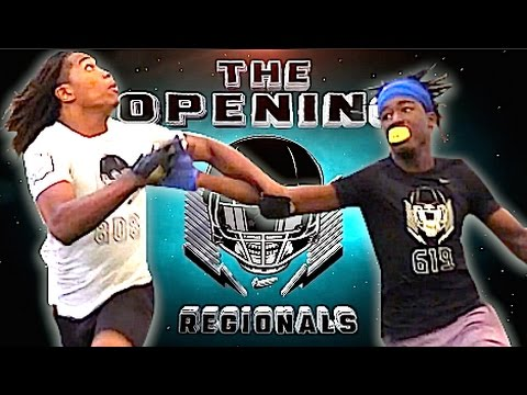 🔥🔥 Miami FL | WRs v DBs - 1v1s | The Opening Regionals 2017